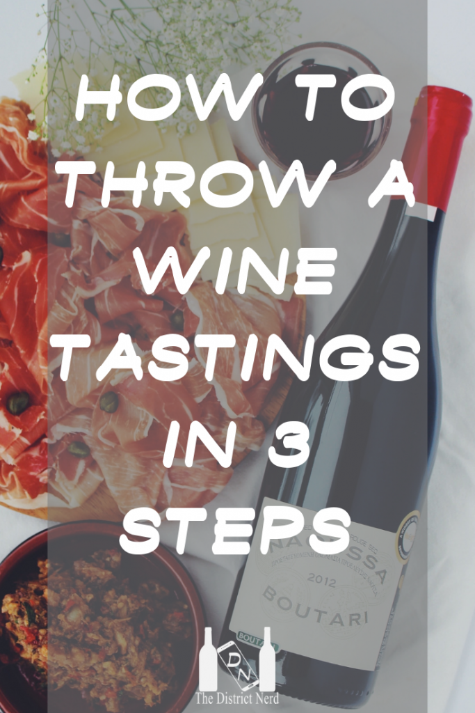 How to throw a wine tastings in 3 steps